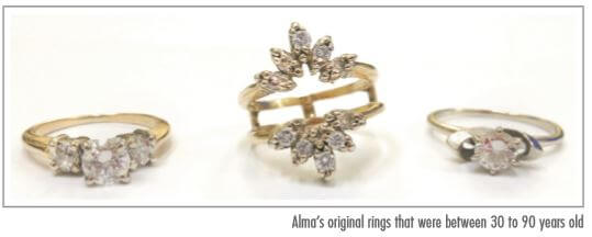 Heirloom Diamonds - Alma Old Design