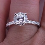 Round Prongs on engagement ring