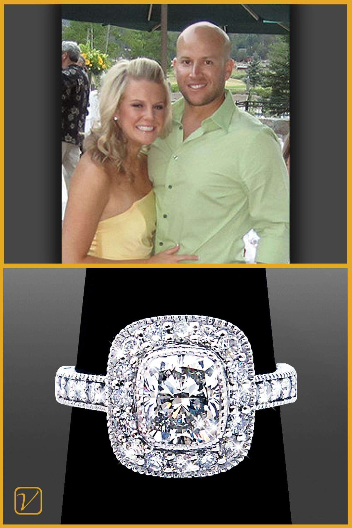 Custom Engagement Ring | Vanessa Nicole Jewels