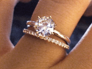 Where to keep your engagement ring after marriage