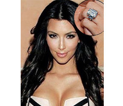Kim Kardashian Wedding Ring