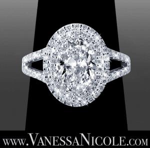 Oval Cut Diamond Ring