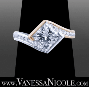 Princess Cut Diamond Ring Example