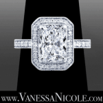Radiant Cut Diamond Ring Example