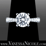 Round Cut Diamond Ring Example