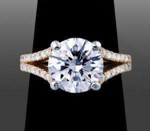 Yellow Gold Metal For Diamond Ring