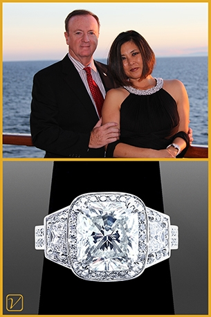 Diamond Ring For Bryan and Myong Murphy