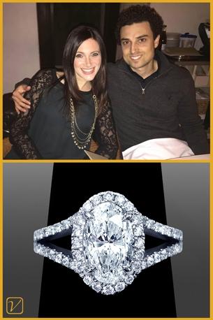 Custom Engagement Ring For Sam And Bethany Berrin