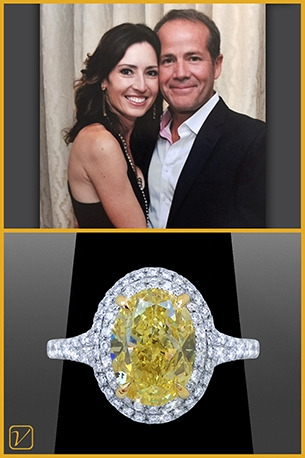Custom Engagement Ring For Dave And Tiffany Dowling