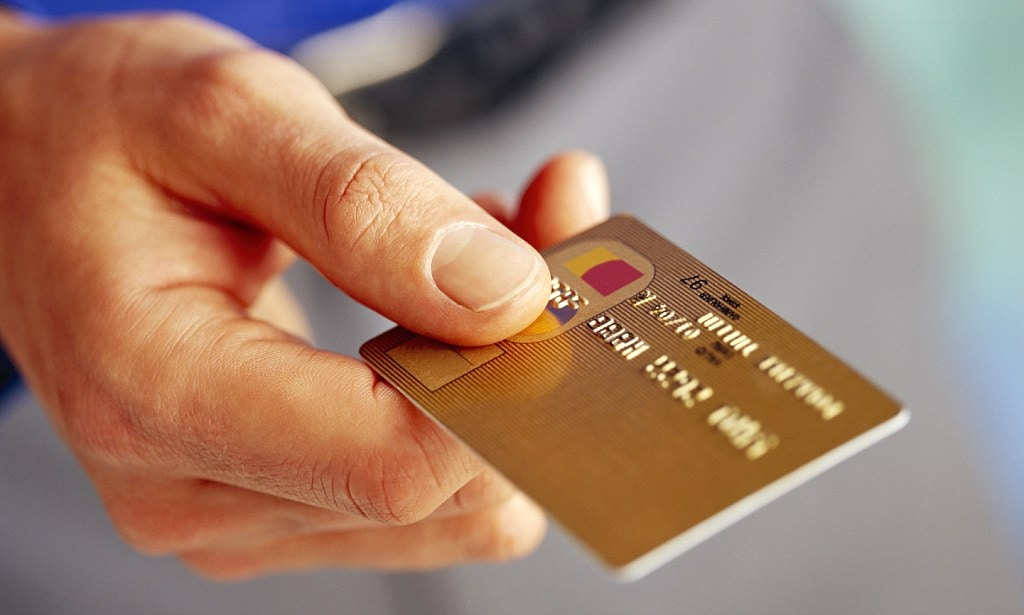 Paying With A Credit Card