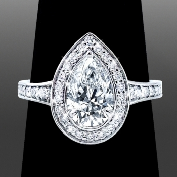 Asscher Cut Diamond Ring Selection for Lael