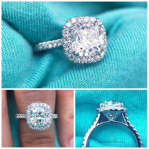 Seamless Halo Ring_Ryan & Lauren