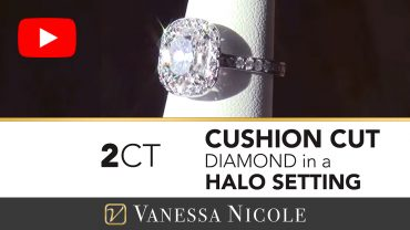 Cushion Cut Custom Engagement Ring