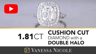 Cushion Cut Diamond Engagement Ring for Elizabeth