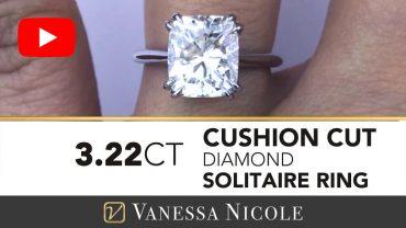 Cushion Cut Diamond For Kristin