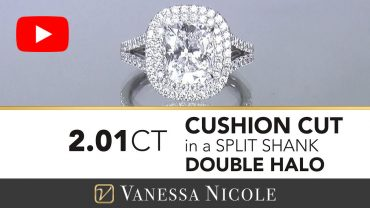 Cushion Cut Diamond Ring For Pam
