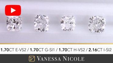 Cushion Cut Diamond Ring Selection for Ed