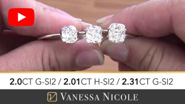 Cushion Cut Diamond Ring Selection for John