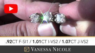 Cushion Cut Diamond Ring Selection for Jon