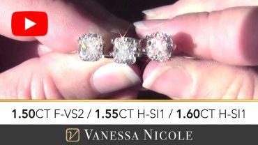 Cushion Cut Diamond Ring Selection for Michael