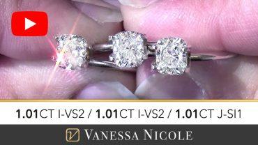 Cushion Cut Diamond Ring Selection for Ryan