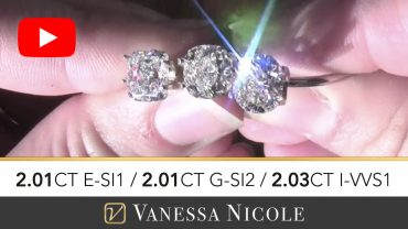 Cushion Cut Diamond Ring Selection for Steve