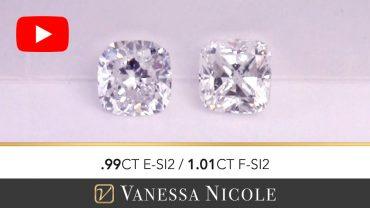 Cushion Cut Diamond Ring Selection for Tim