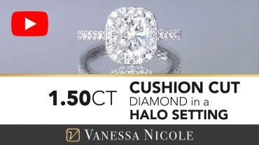 Cushion Cut Diamond Ring for Laura