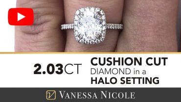 Cushion Cut Diamond Ring for Samantha
