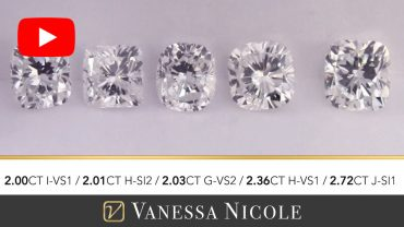Cushion Cut Diamond Selection for Chris