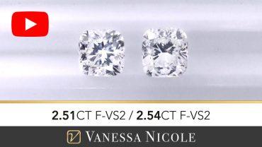 Cushion Cut Diamond Selection for Kevin