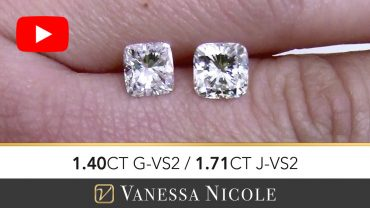 Cushion Cut Engagement Ring Selection for Adam