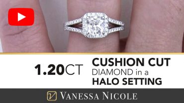 Cushion Cut Engagement Ring for Julie 3