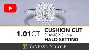 Cushion Cut Engagement Ring for Savannah 3