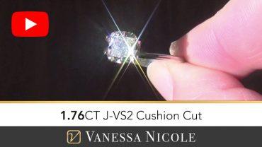 Cushion Shaped Diamond Ring Selection for Markus