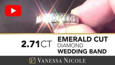 Emerald Cut Diamond Band with Emeral Cut