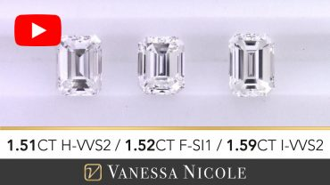 Emerald Cut Diamonds Ring for Damon
