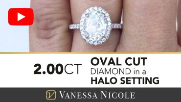 Oval Cut Diamond Engagement Ring for Cynthia