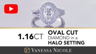 Oval Cut Diamond Engagement Ring for Marcela