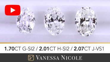Oval Cut Diamond Ring Selection for Mariana