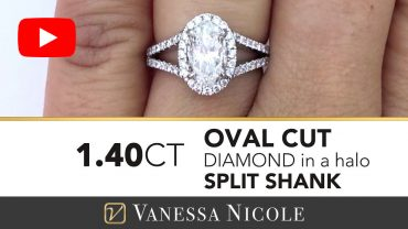 Oval Cut Diamond Ring for Bethany