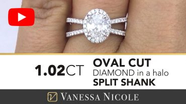 Oval Cut Diamond Ring for Erin