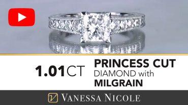 Princess Cut Diamond Engagement Ring for Melissa