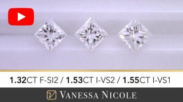 Princess Cut Diamond Ring Selection for Gokul