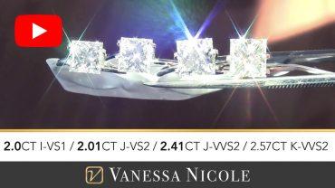 Princess Cut Diamond Ring Selection for Peter