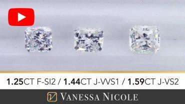 Radiant Cut Diamonds Ring for John