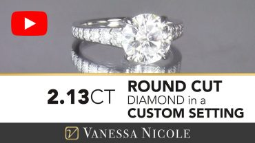 Round Cut Diamond Engagement Ring for Catie
