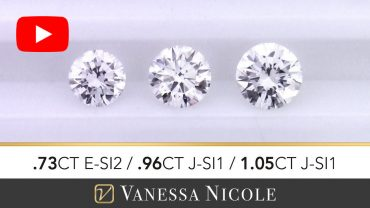 Round Cut Diamond Selection for Anthony
