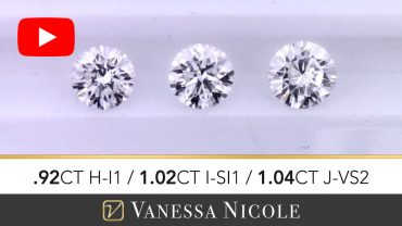 Round Cut Diamond Selection for Chris