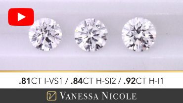 Round Cut Diamond Selection for Mathew